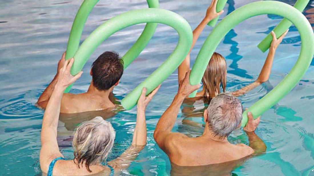 آبدرمانی و تمرینات آبی